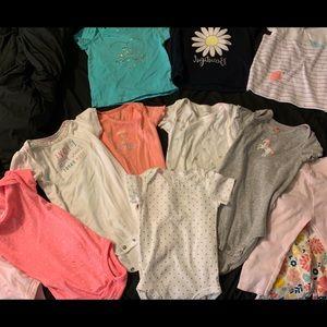 Baby Girl Clothes 9 mo.